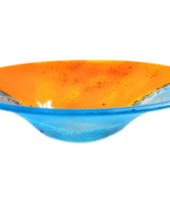 Glass Fruit Bowl Made in Portsmouth
