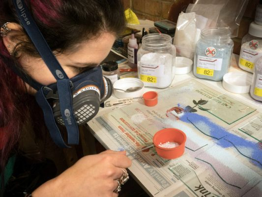 Glass Making Artistic Process