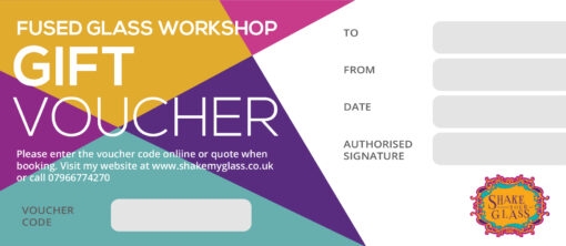 Gift Voucher For Glass Making