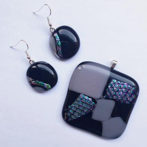 Dichroic Glass Jewellery Wohrkshop Portsmout