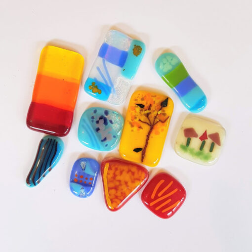 Collection of Glass Items