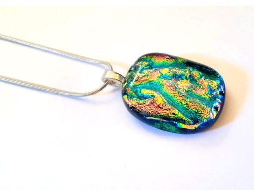 Rainbow Ripple Glass Designing Jewellery Havant